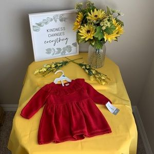 Carters Red Infant Dress-multiple sizes